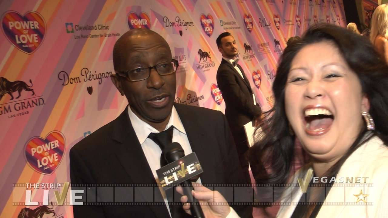 Greg Phillinganes (with Maria Ngo) on THE STRIP LIVE for VegasNET media