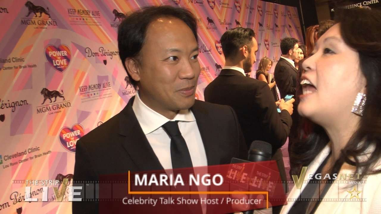 Jim Kwik (with Maria Ngo) on THE STRIP LIVE for VegasNET media