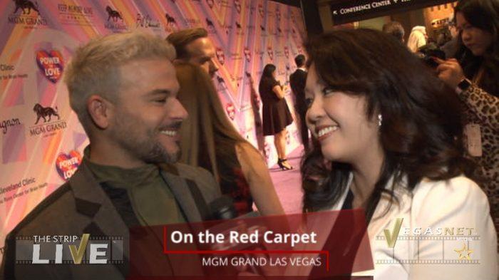 Pedro Capo (showcase) on THE STRIP LIVE for VegasNET media (with Maria Ngo & Ray DuGray)